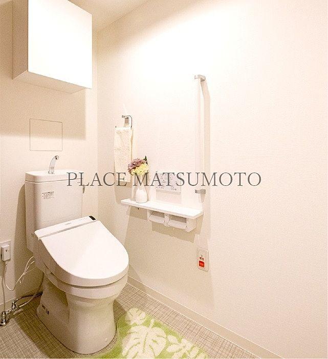 モデルルームトイレ