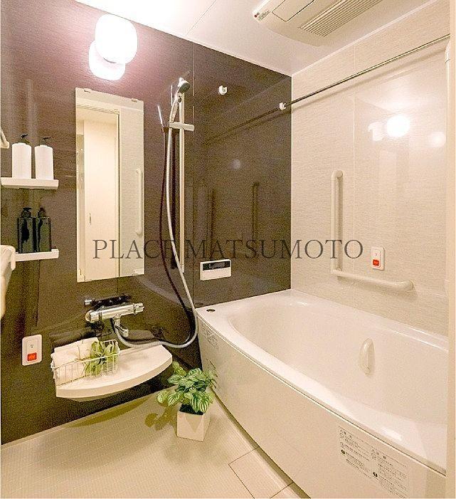 モデルルーム浴室