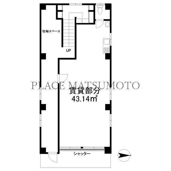 吉村ビル 1階(亀戸2丁目 )|亀戸駅北口徒歩5分 店舗事務所