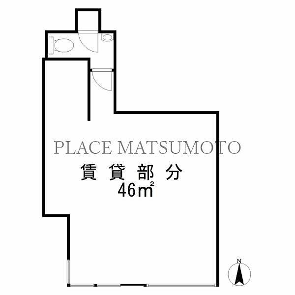 野澤店舗事務所(亀戸3丁目) 間取図