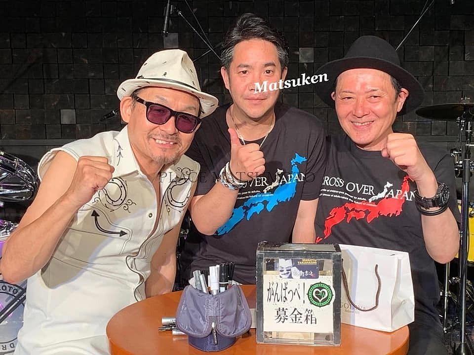 BOØWY 高橋まことさんと初期メンバーの深沢和明さんと3ショット
