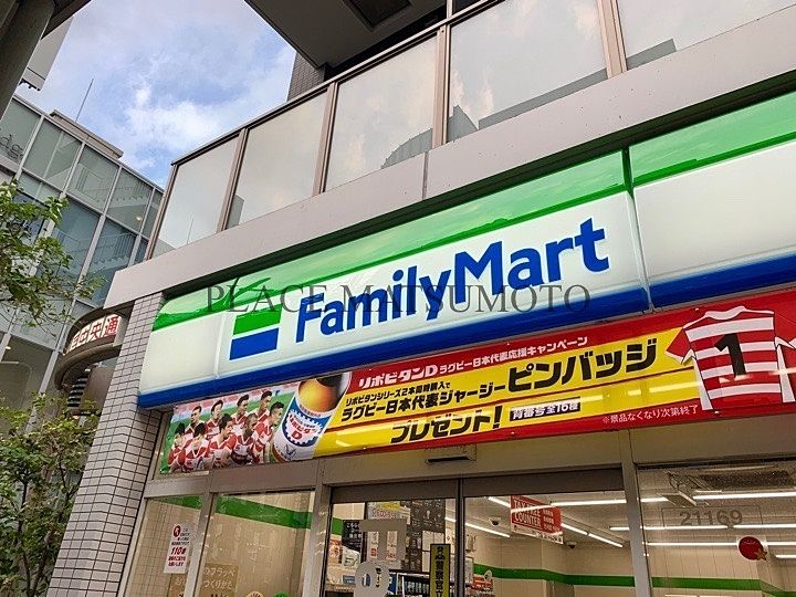 亀戸のコンビニエンスストア(ファミリーマート)